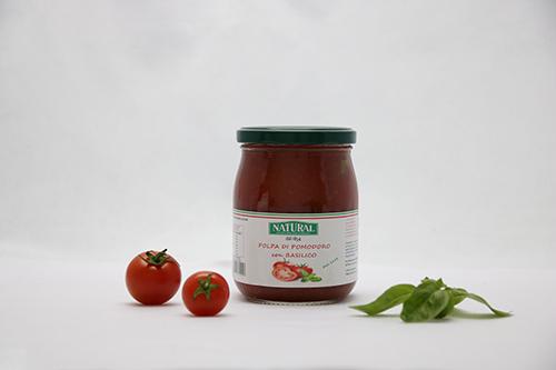 Natural Polpa Pomodoro Basilico