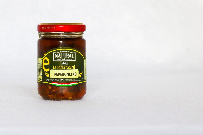 Natural Peperoncino Verde Sott'Olio