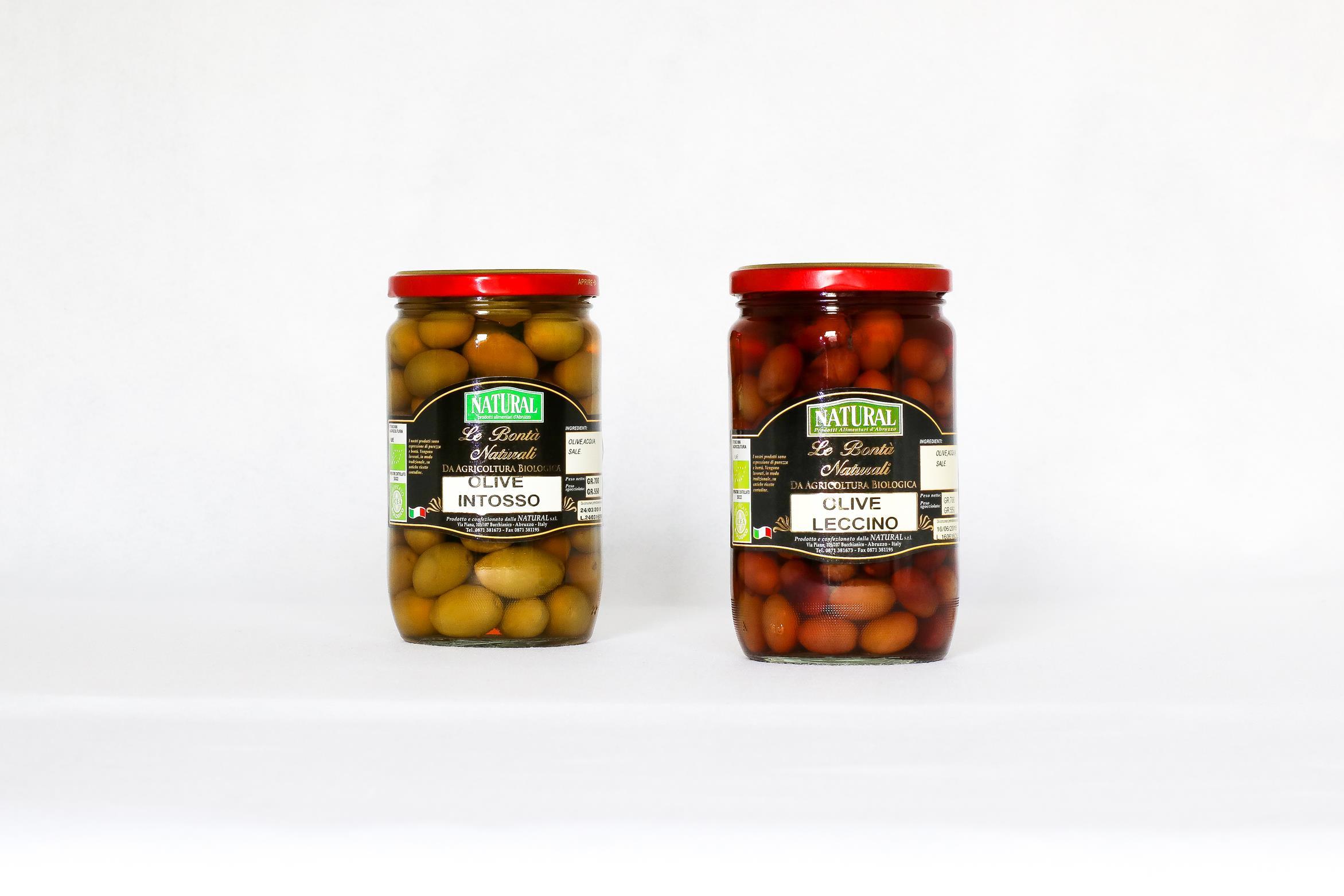 Olive biologiche Natural