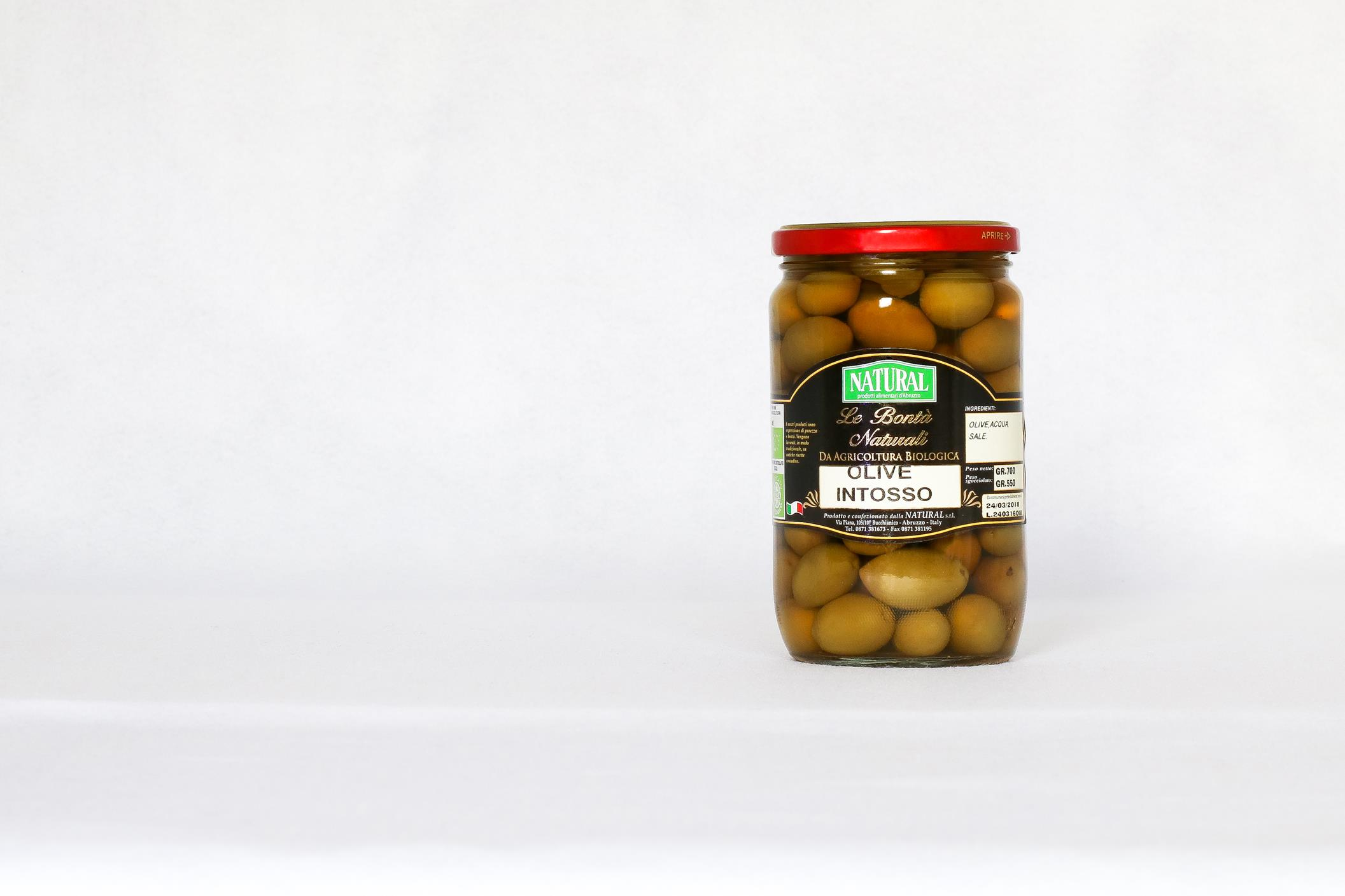 Natural Olive Intosso Biologiche