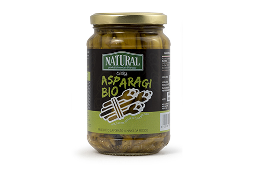 Natural Asparagi Sottolio Biologici