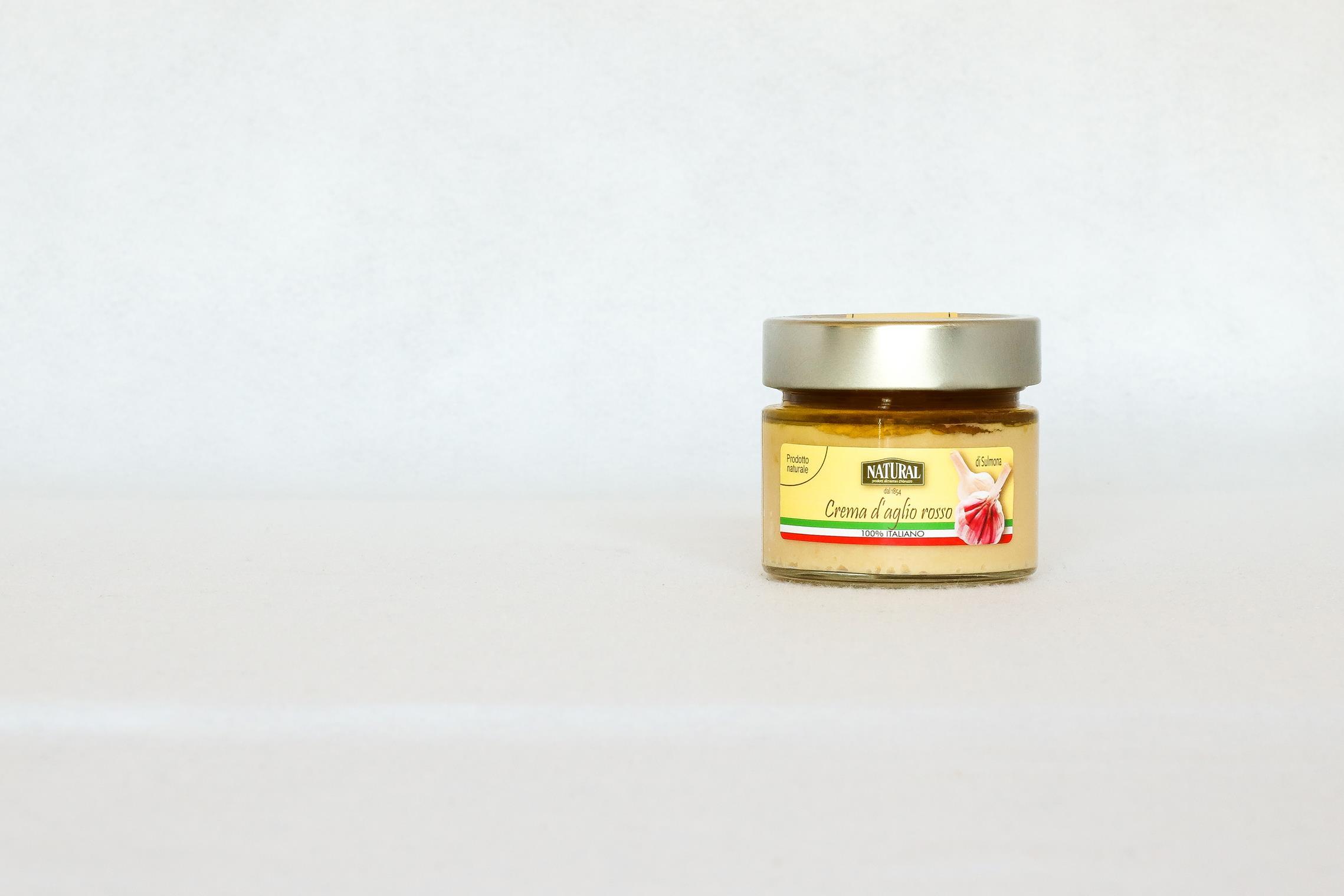 Natural Crema d'aglio rosso di Sulmona