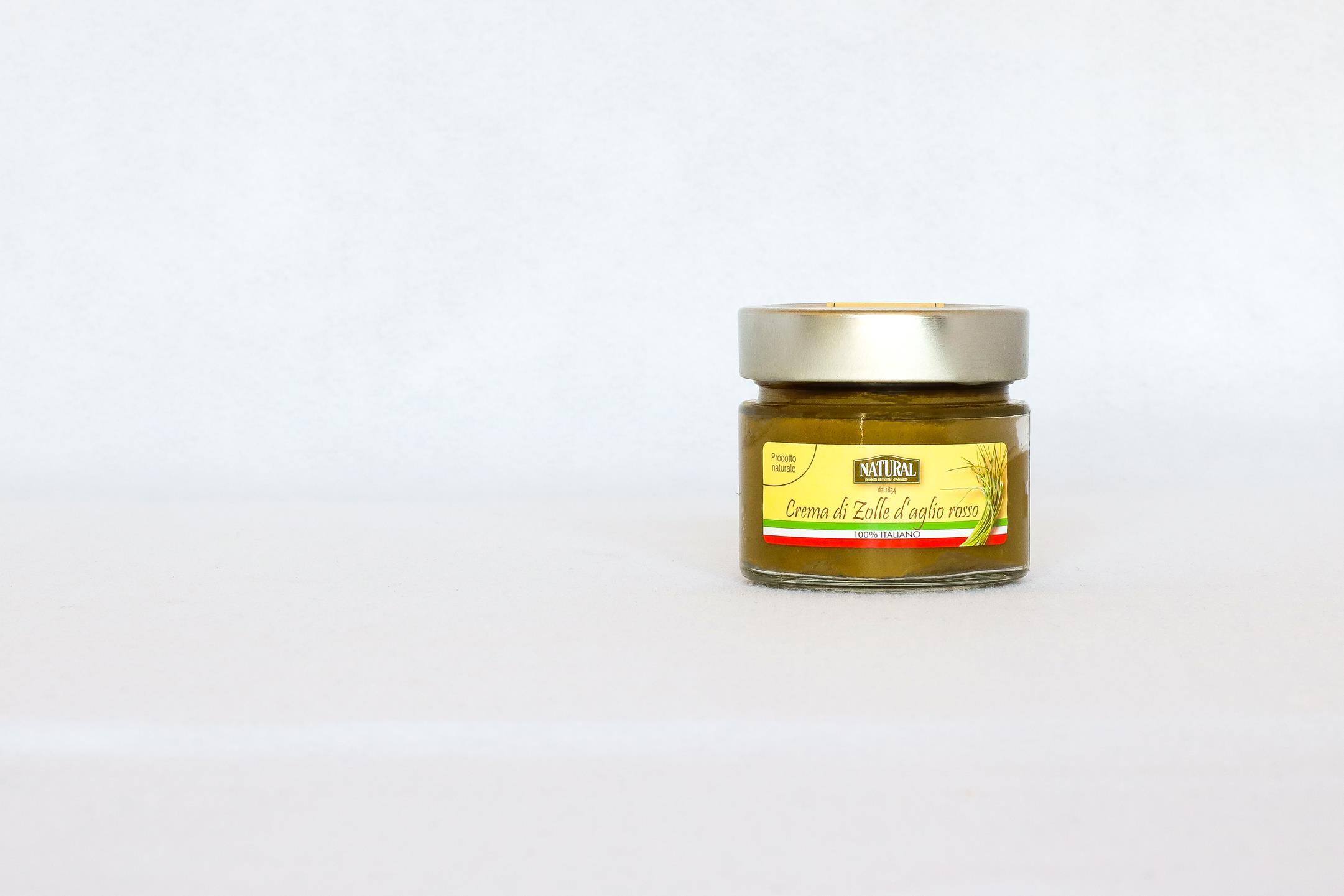 Natural Crema di zolle d'aglio rosso di Sulmona