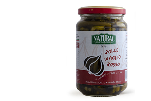 Natural Zolle d'Aglio Rosso di Sulmona