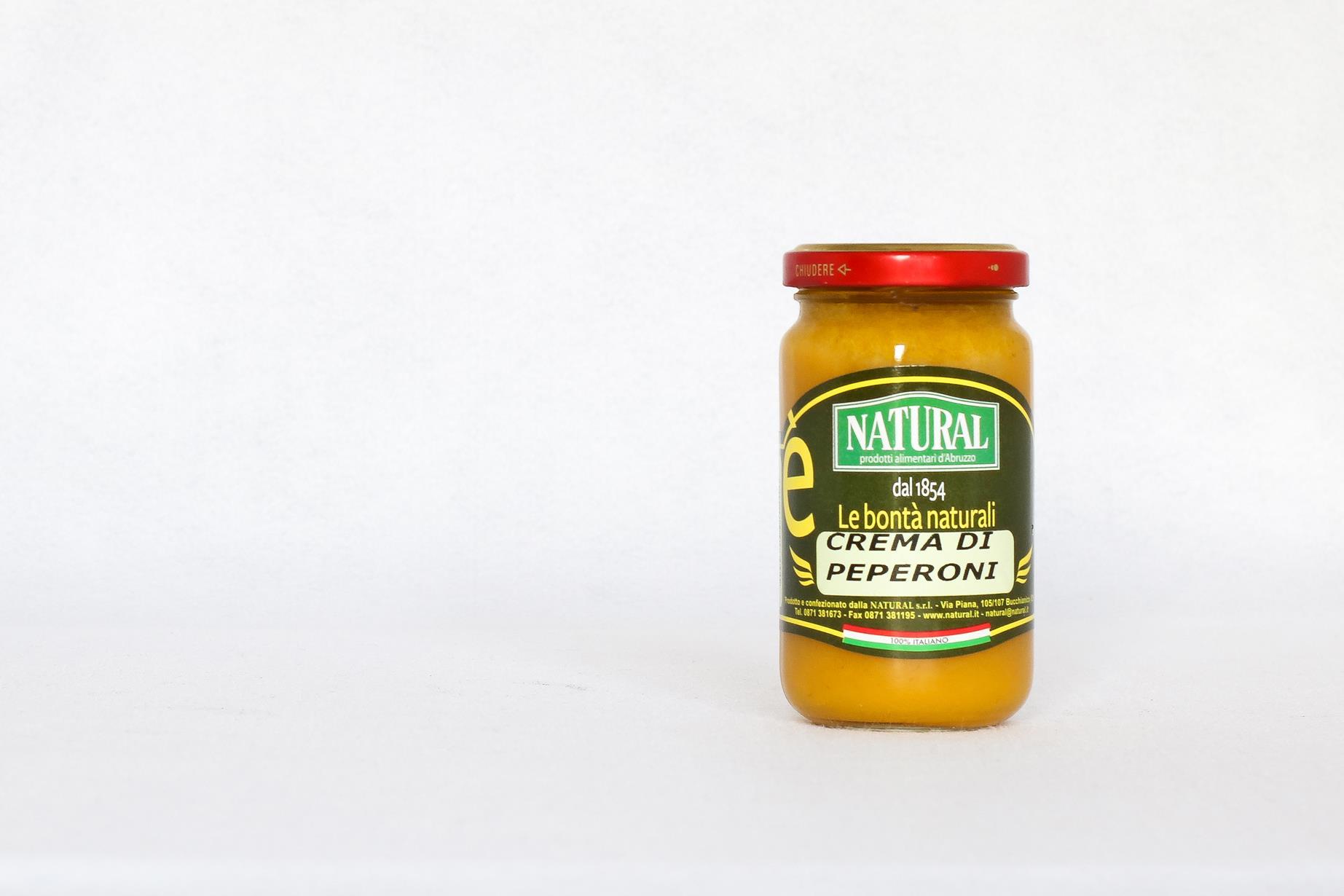Natural Crema di Peperoni Gialli