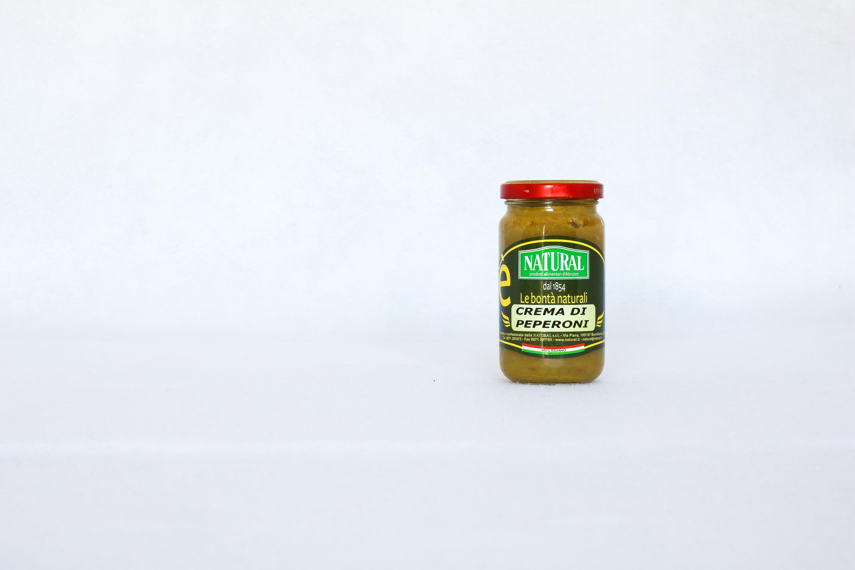 Natural Crema di Peperoni Verdi