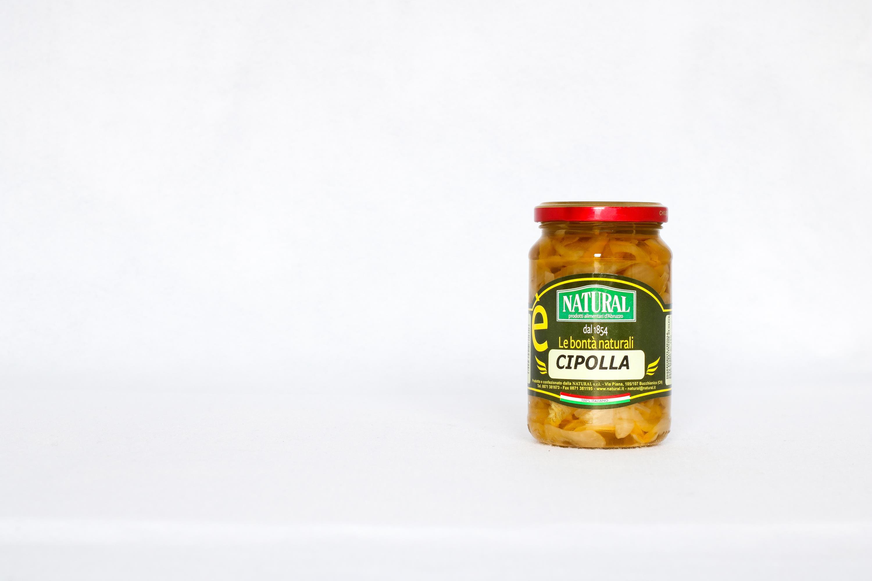 Natural Cipolle a fette Sottolio