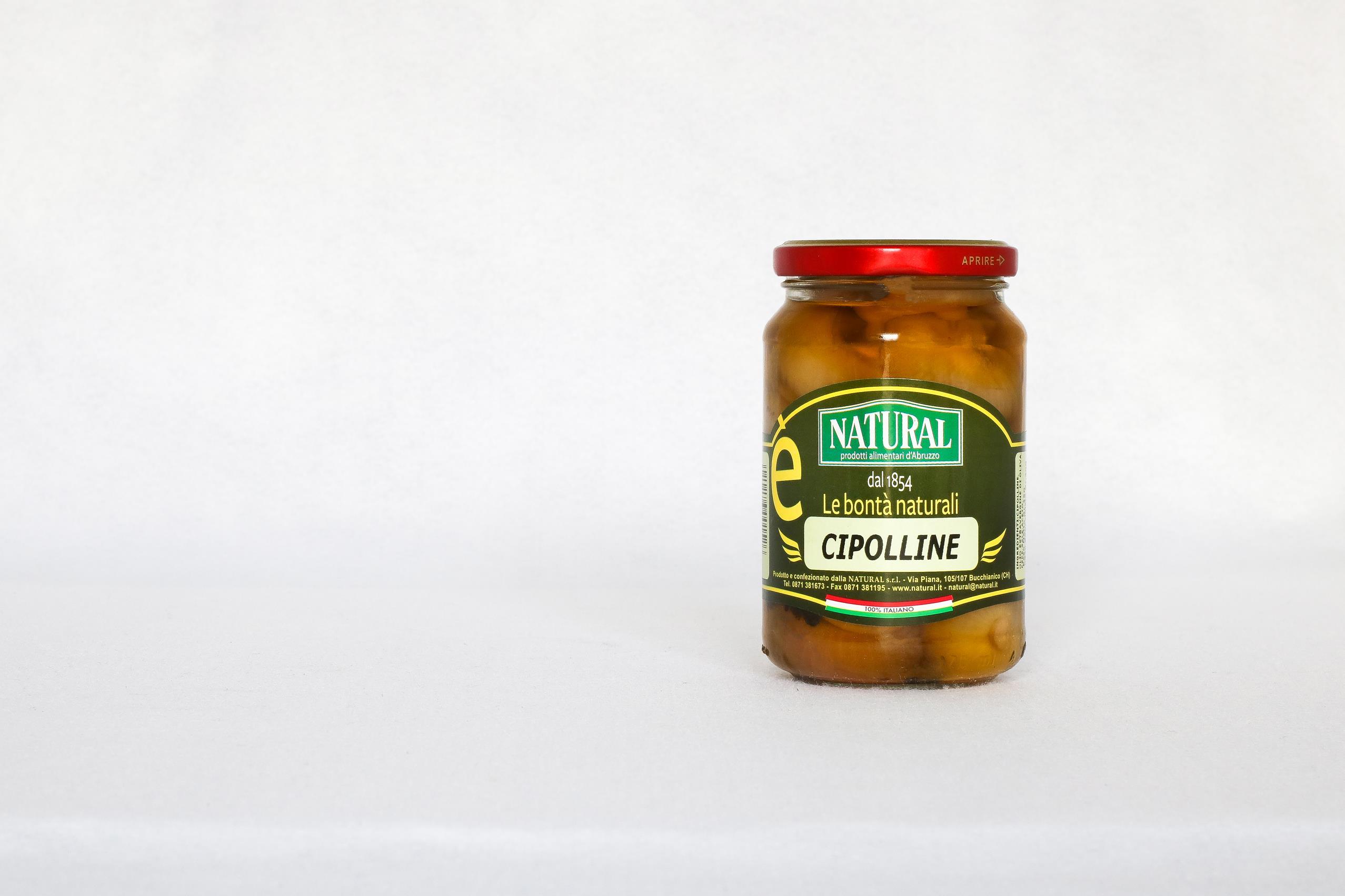 Natural Cipolline Sottolio