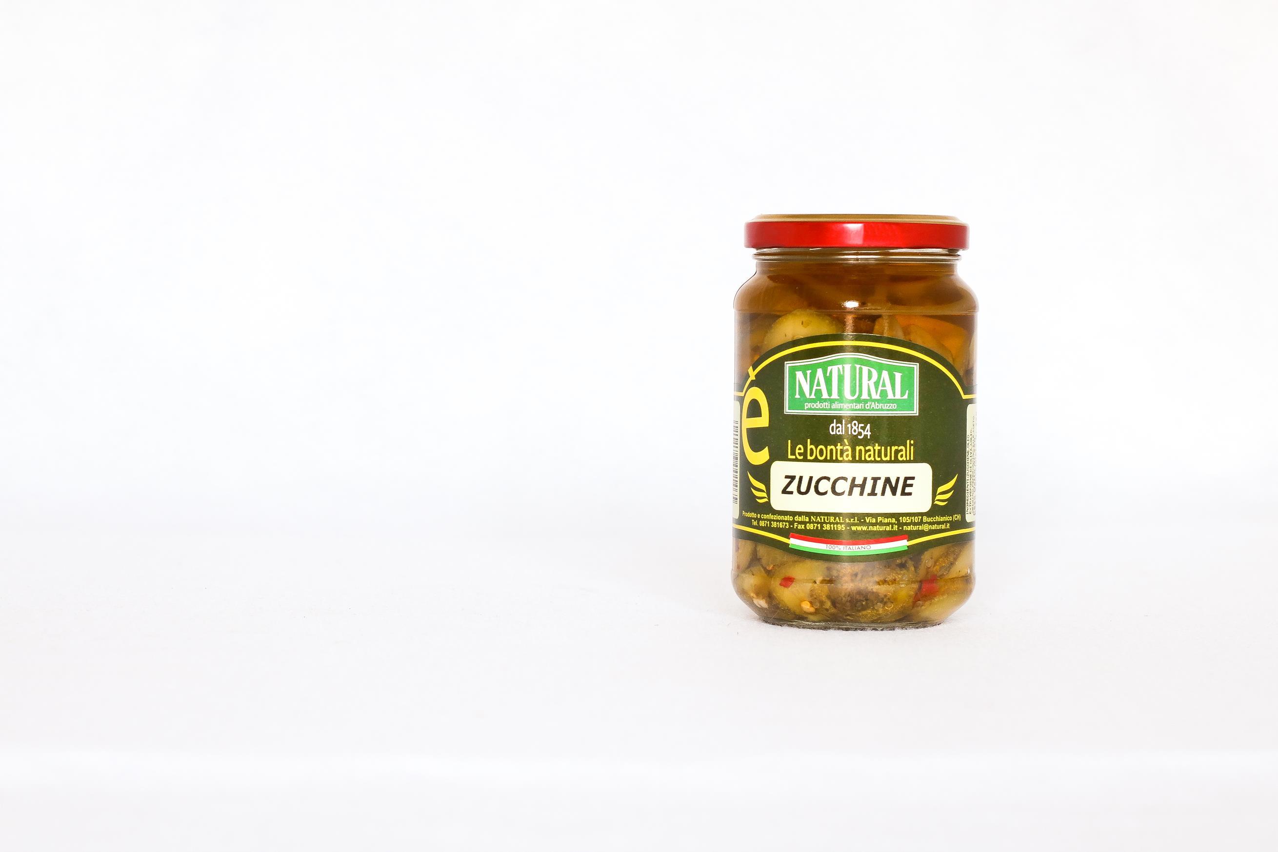 Natural Zucchine Sottolio