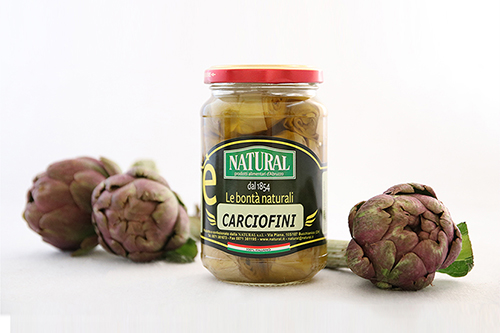 Natural Carciofini Sottolio